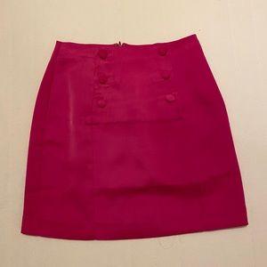 NBD mini skirt in hot pink